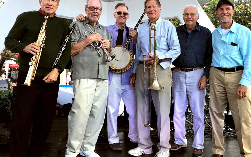Photo of the Glyn Dryhurst Dixieland Band