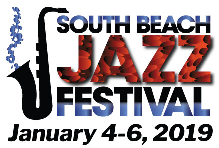 logo, South Beach Jazz Festival, January 4-6, 2019