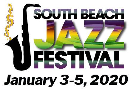 logo, South Beach Jazz Festival, January 3-5, 2020